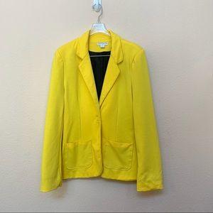 ✅ Cotton On Yellow Blazer